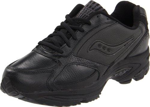 Saucony Men's Grid Omni Walking Shoe,Black,10.5 M