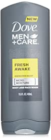 Dove Men Plus Care Body and Face Wash Fresh Awake 13.5 Ounce