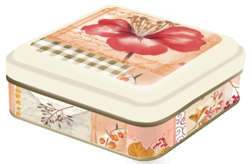 Ideal Home Range Candy Tin Container, Autumn Garden
