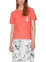 Pepa Loves Camiseta Manga Corta (Rojo)