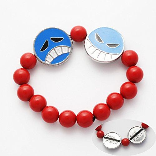 one bracciale Ace cosplay faccine bracelet nuovo new gadget top Pidak Shop piece - un pezzo