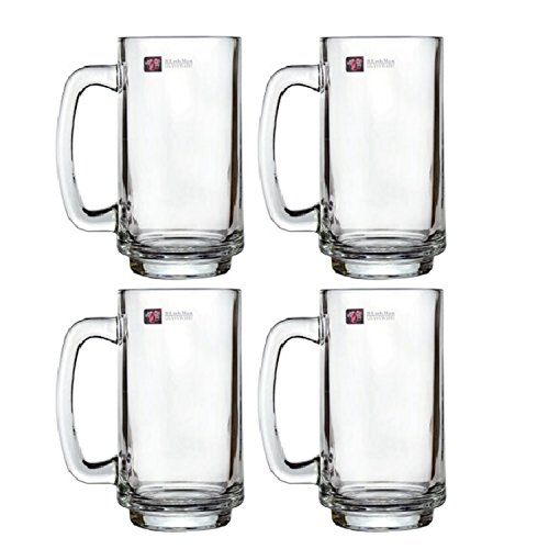 Blinkmax Glass Beer Mug (Set Of 2)