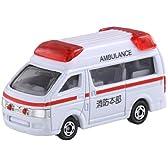 トミカ テコロジートミカ TT-05 トヨタ ハイメディック救急車