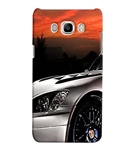 Generic Back Cover For Samsung J5(2016) Plus Mobile (Multicolor)