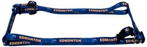 цена на Hunter MFG 3/4-Inch Edmonton Oilers Adjustable Harness, Medium