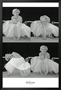 Amazon.com - Professionally Framed Marilyn Monroe (Ballerina Sequence