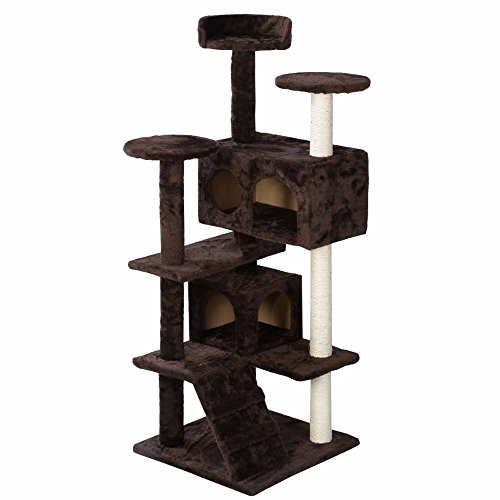 new-cat-tree-tower-condo-furniture-scratch-post-kitty-pet-house-play-brown-ship-from-usa