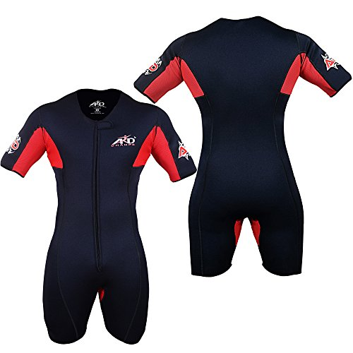 4Fit Neoprene Sweat Shirt Rash Guard Sauna Suit Weight Loss Top MMA (S TO 6XL) (5XL)