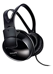 Philips SHP1900/97 Over-Ear Stereo Headphone (Black)