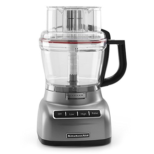 Kitchenaid Kfp1330Cu 13-Cup Food Processor With Exactslice System - Contour Silver front-923518