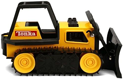 Toys & Hobbies Tonka 93504 Retro Classic Steel Bulldozer Vehicle Toy