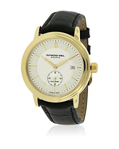 Raymond Weil Reloj con movimiento automático suizo Man Maestro Plaqué 39.5 mm