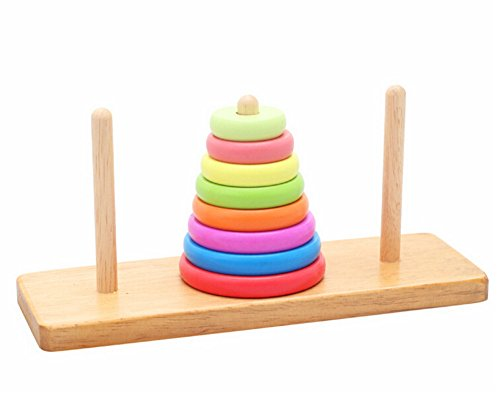 Wooden Tower of Hanoi Educational Toys
