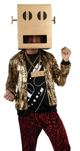 Rubie'S Costume Lmfao Robot Pete Shuffle Bot Party Rock Anthem Costume, Multi, Standard