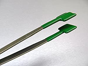 Amazon Com Specialty Tweezers Pvc Coated Forceps Flat