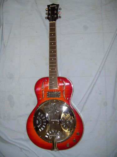 Resonator Electric Guitar