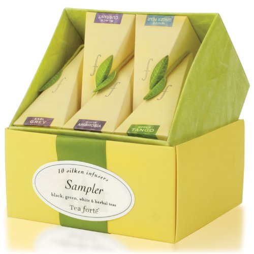 Tea Forte Petite Ribbon Box Sampler