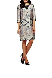 Paisley Print Tunic Dress [T62-6622J-S]