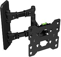 "OLLO: Triple Rotation 26-37"" Swivel / Tilt TV Wall Mount Bracket * Shock Absorbing * Patent Pending Tool-Free Memory Tilt * Patented safety Lock System * LCD, LED, Plasma"
