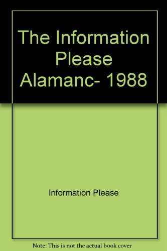 Title: The Information Please Almanac 1988
