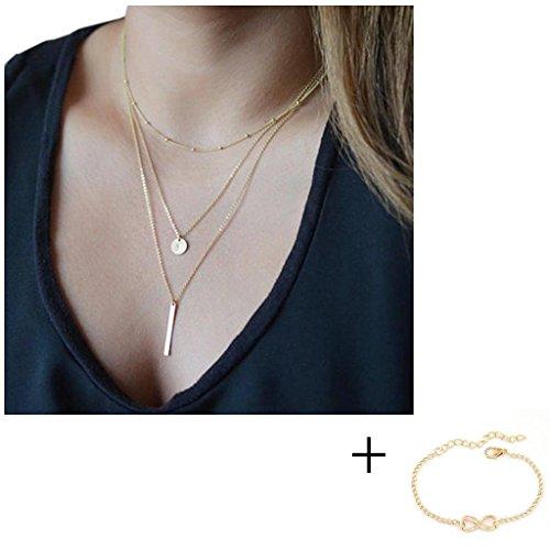 ularmo-hot-fashion-women-bang-bang-multilayer-pendant-chain-statement-necklace-gold2