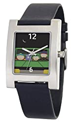 South Park Men's D1528S060 Kuban Collection Towelie Black Leather Watch