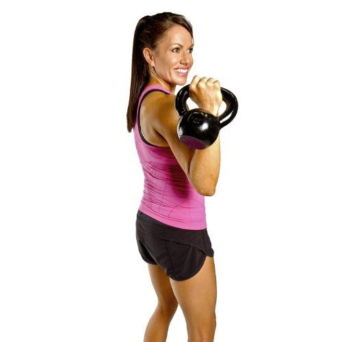 Kettlebell Training For Athletes: CAP Barbell Enamel Coated Cast Iron Kettlebell