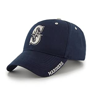 MLB Seattle Mariners 47 Brand Adjustable Frost MVP Hat, Navy, One Size by
