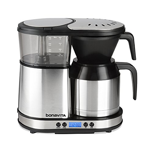 Buy Cheap Bonavita BV1500TD 5-Cup Digital Carafe Coffee Brewer, Stainless Steel
