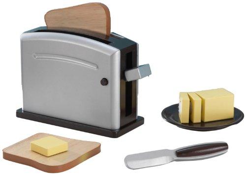 Kidkraft Espresso Toaster Set front-548427