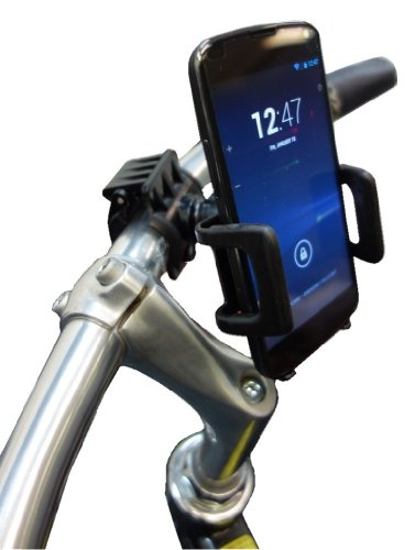 First Rate Galaxy Nexus 4 Bicycle Handlebar Mount With Robust Rotating Cradle Holder