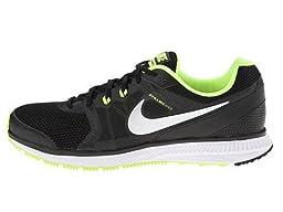 Nike ZOOM WINFLO Men\'s Running Shoes (14 D(M) US, BLACK/VOLT/DARK GREY/METALLIC SILVER)