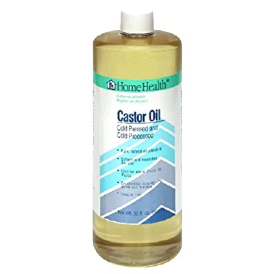 Home Health Castor Oil, Cold Pressed and Cold Processed, 32 Ounce