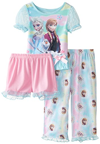 Elsa Anna and Olaf  Pajama Set