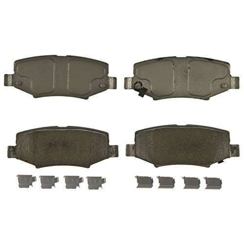 Wagner ThermoQuiet Jeep Wrangler JK Rear Ceramic Disc Pads Set