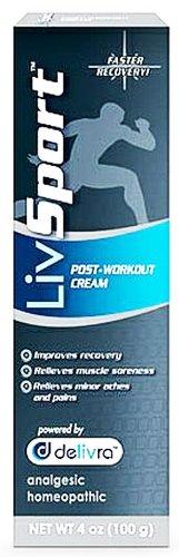 LivRelief - LivSport Post Workout Cream - 4 oz.