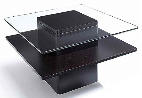 30 in. Square Coffee Table in Espresso Finish