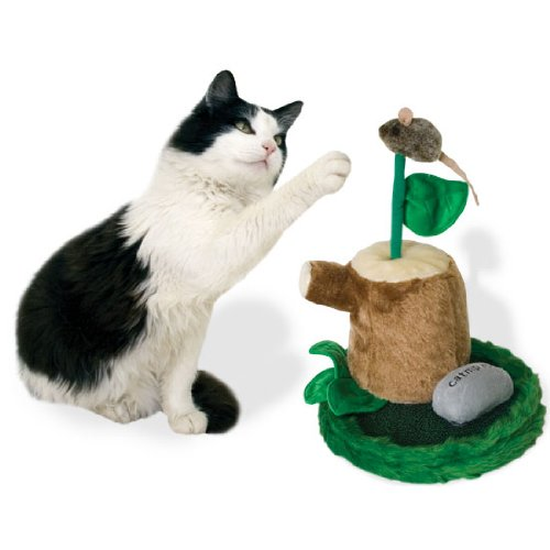 Our Pets CT-10164 Play-N-Squeak Whack Attack Cat Toy