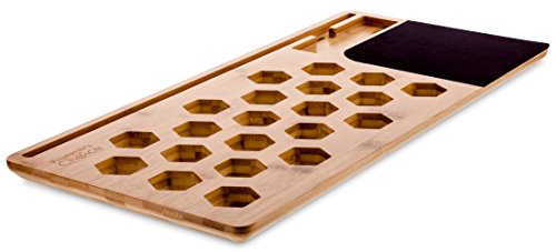 Prosumer's Choice Natural Bamboo Laptop Stand for MacBook, Laptop 15in up to 17in or Tablet Lap Desk