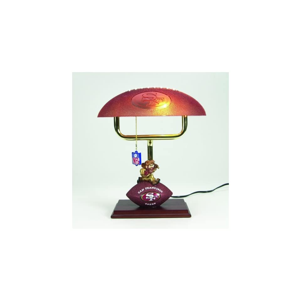 14 NFL San Francisco 49ers Football Mascot Office Desk Lamp