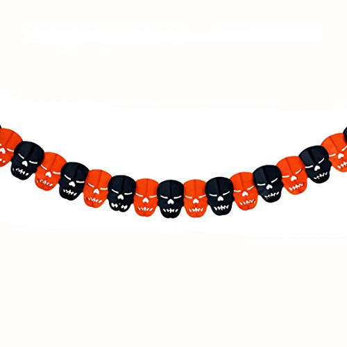 Wensltd Halloween Paper Garland Decoration for Halloween Props Party