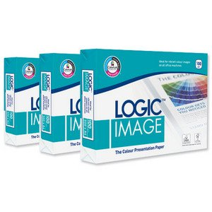 Logic Image Presentation Paper Ream-Wrapped 100gsm A4 White Ref BP-117881H [5 x 500 Sheets]
