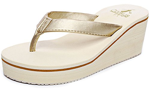 damen sommer fashion creative high heel flip flops damen beige. Black Bedroom Furniture Sets. Home Design Ideas