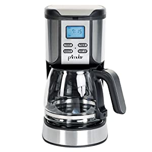 Primula SAB-3001 Speak n' Brew 10-Cup Coffeemaker with Glass Carafe