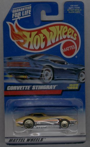 Hot Wheels 1998-1056 Corvette Stingray 1:64 Scale - 1
