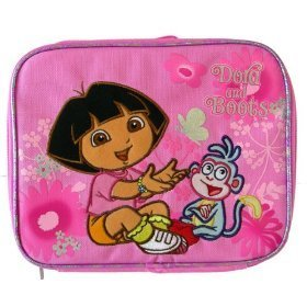 Dora the Explorer with boots Butterfly lunch box - 1