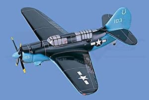 SB2C   Helldiver Airplane Model Toy. Mahogany Wood Model Aircraft Scale: 1/33