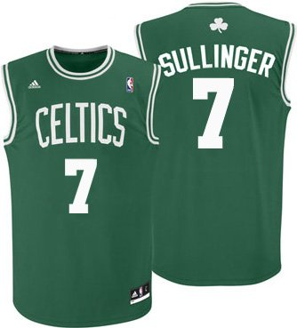 Jared Sullinger #7 Boston Celtics Adidas Green Youth Replica Jersey by adidas