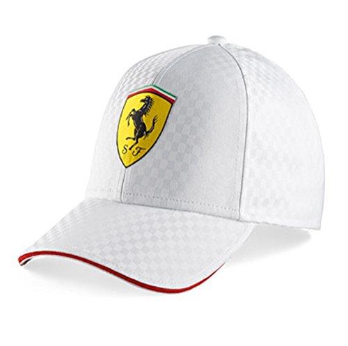 Ferrari Racing Check Cap (White)