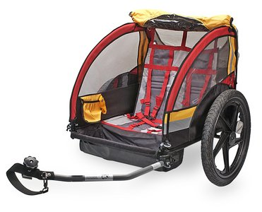 CoPilot Model A Double Bike Trailer